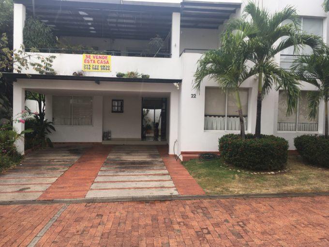 Casa De Dos Plantas En Condominio Santorini I, Neiva-Huila (640-99465)